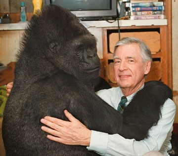Mr. Rogers and Koko