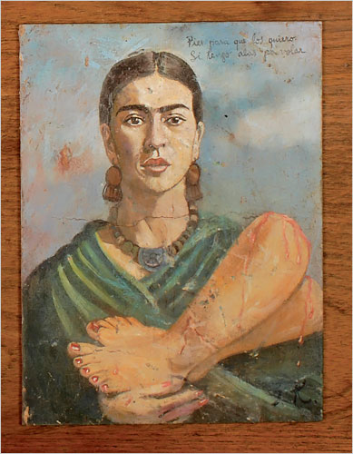 Disputed Kahlo Self-Portrait