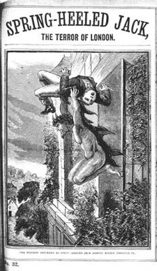 Spring-Heeled Jack, Penny Dreadful, Victorian England